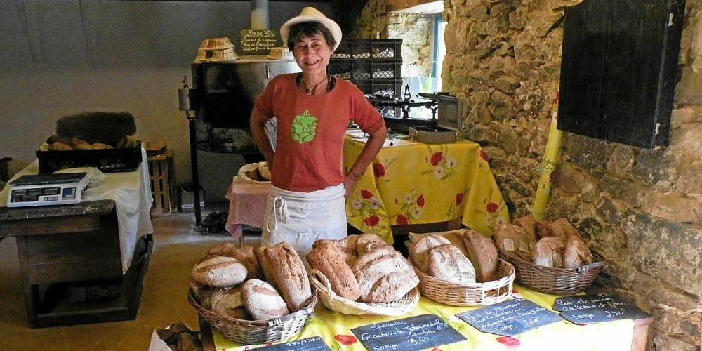 Baralo. Du pain au levain cuit au bois